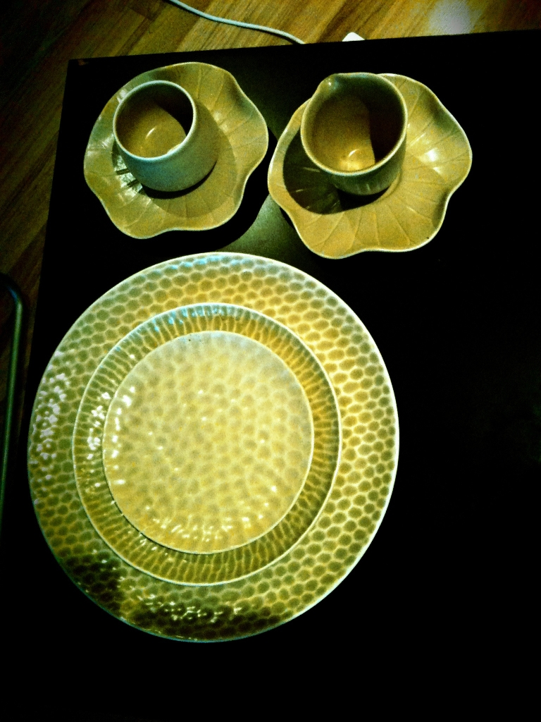 Bali ceramic tea set