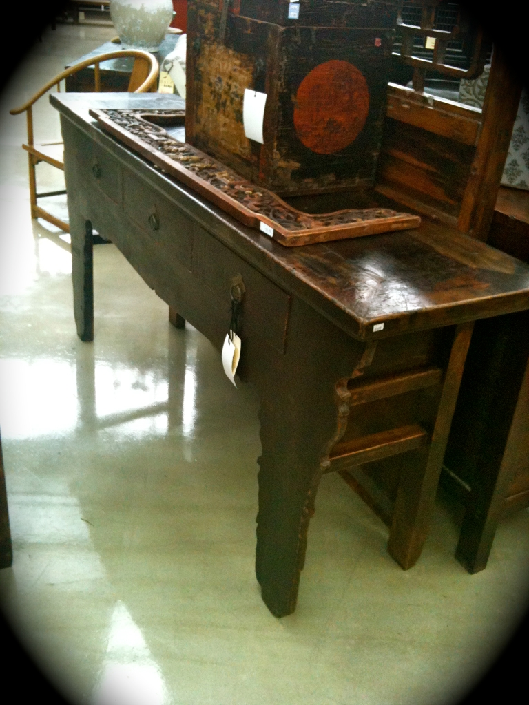 Oriental Antique Hall Table